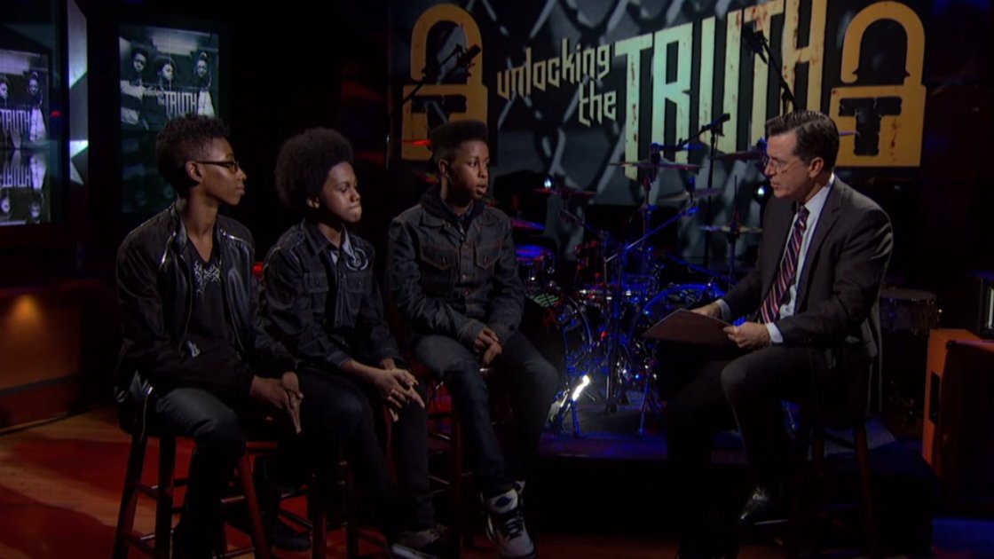Unlocking-The-Truth-Live-On-The-Colbert-Report-9-16-2014-Performance-And-Interview